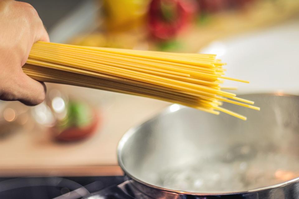 בישול ספגטי